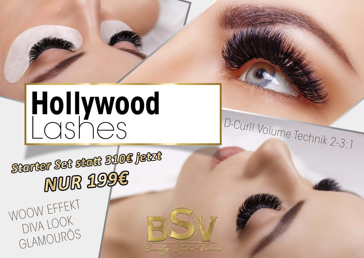 Hollywood Lashes by Beauty Style Vienna